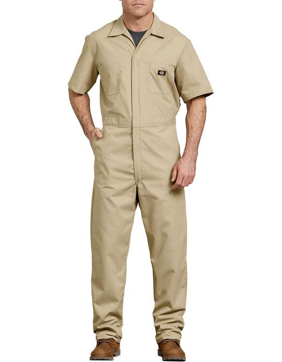 Short  Sleeve  Coverall  - Military Khaki (KH)