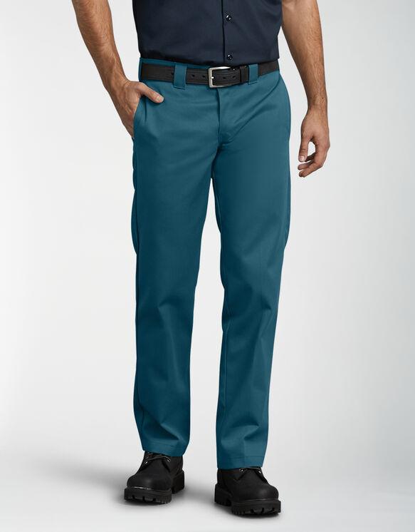 Slim Fit Straight Leg Work Pants - Deep Sky (DS1)