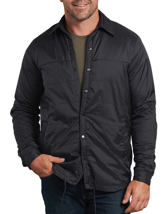 Modern Fit X-Series Nylon Shirt Jacket - Black (BK)