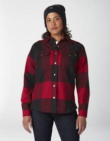 Women's DuraTech Renegade Flannel Shirt - Buffalo Aged Brick (UP2)