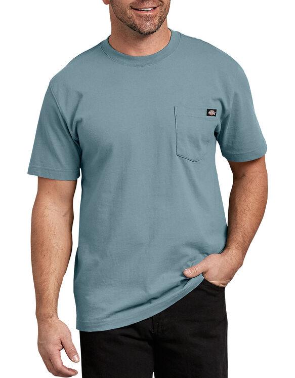 Short Sleeve Heavyweight Crew Neck Tee - Dockside Blue (DU1)