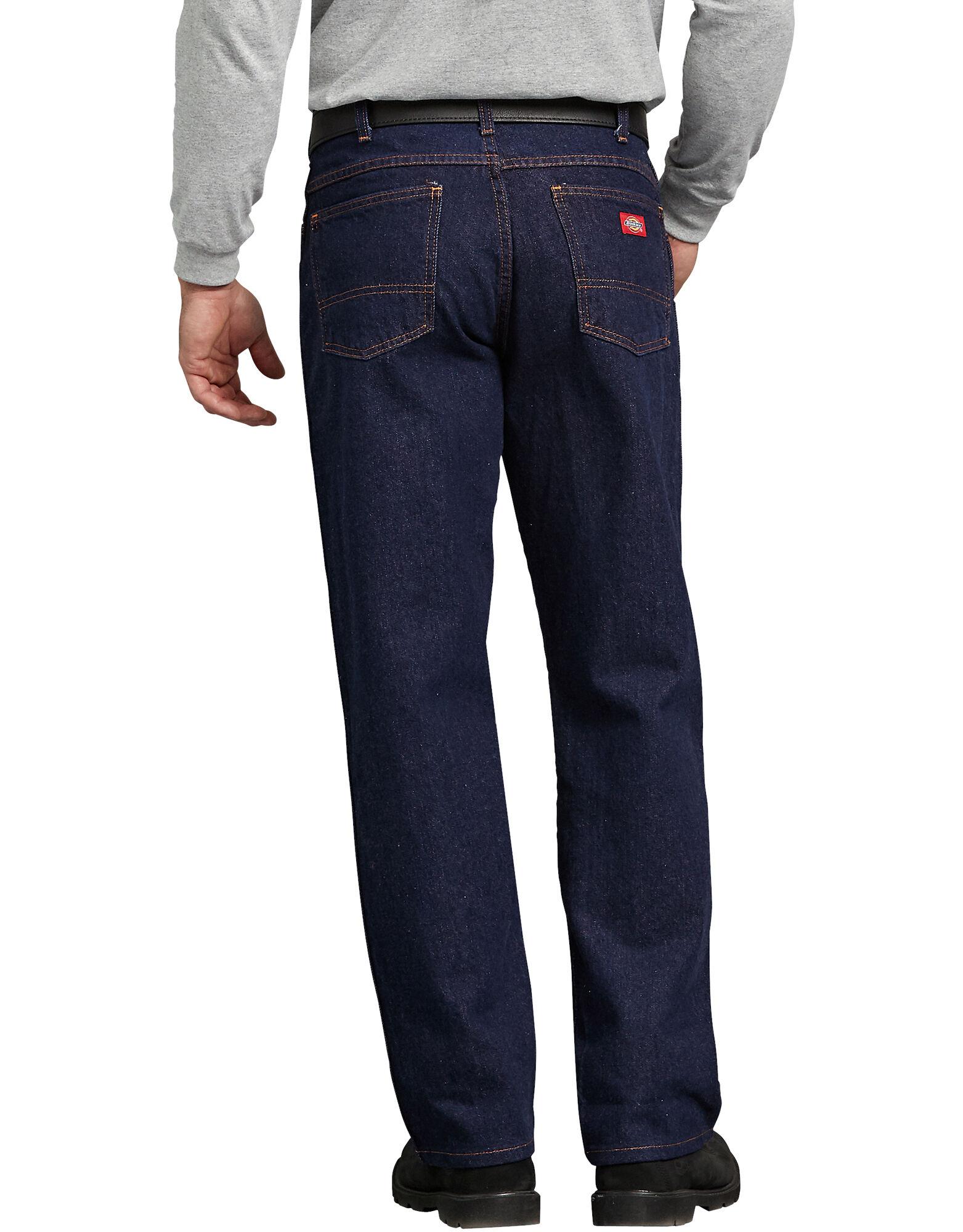 Regular Fit Jean For Men Rinsed Indigo Blue Size 31 32 Dickies