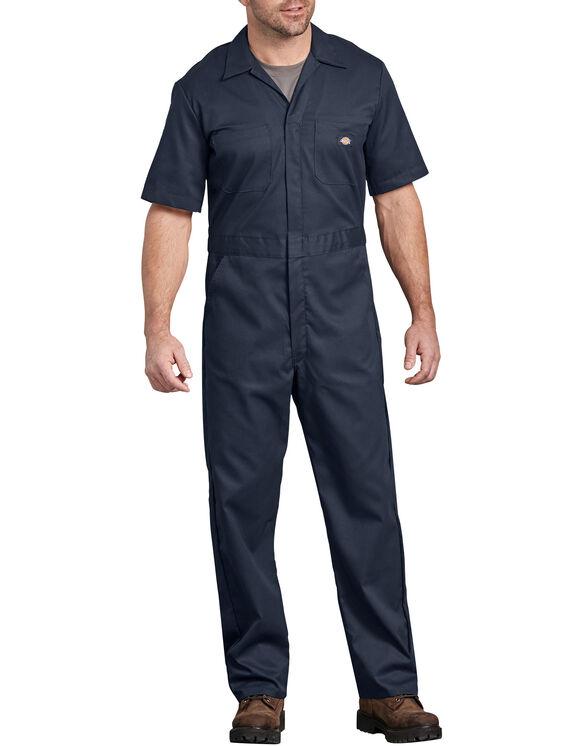 FLEX Short Sleeve Coveralls - Dark Navy (DN)