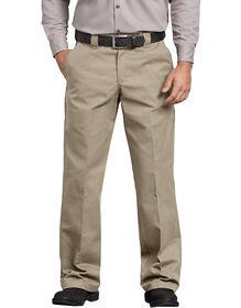 FLEX Relaxed Fit Straight Leg Twill Comfort Waist Pants - Desert Khaki (DS)