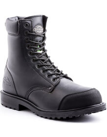 "8"" Walker Safety Boot - Black (BLK)"