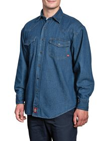 Denim Shirt - Navy Blue (NV)