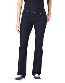 Women's Slim Straight Leg Denim Jean - VINTAGE DARK 1 (VND1)