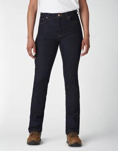 Women's Perfect Shape Denim High Waist Bootcut Jean - Rinsed Indigo Blue (RNB)