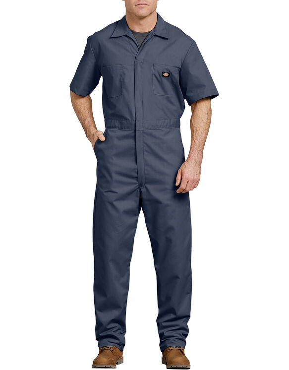 Short  Sleeve  Coverall  - DARK NAVY (DN)
