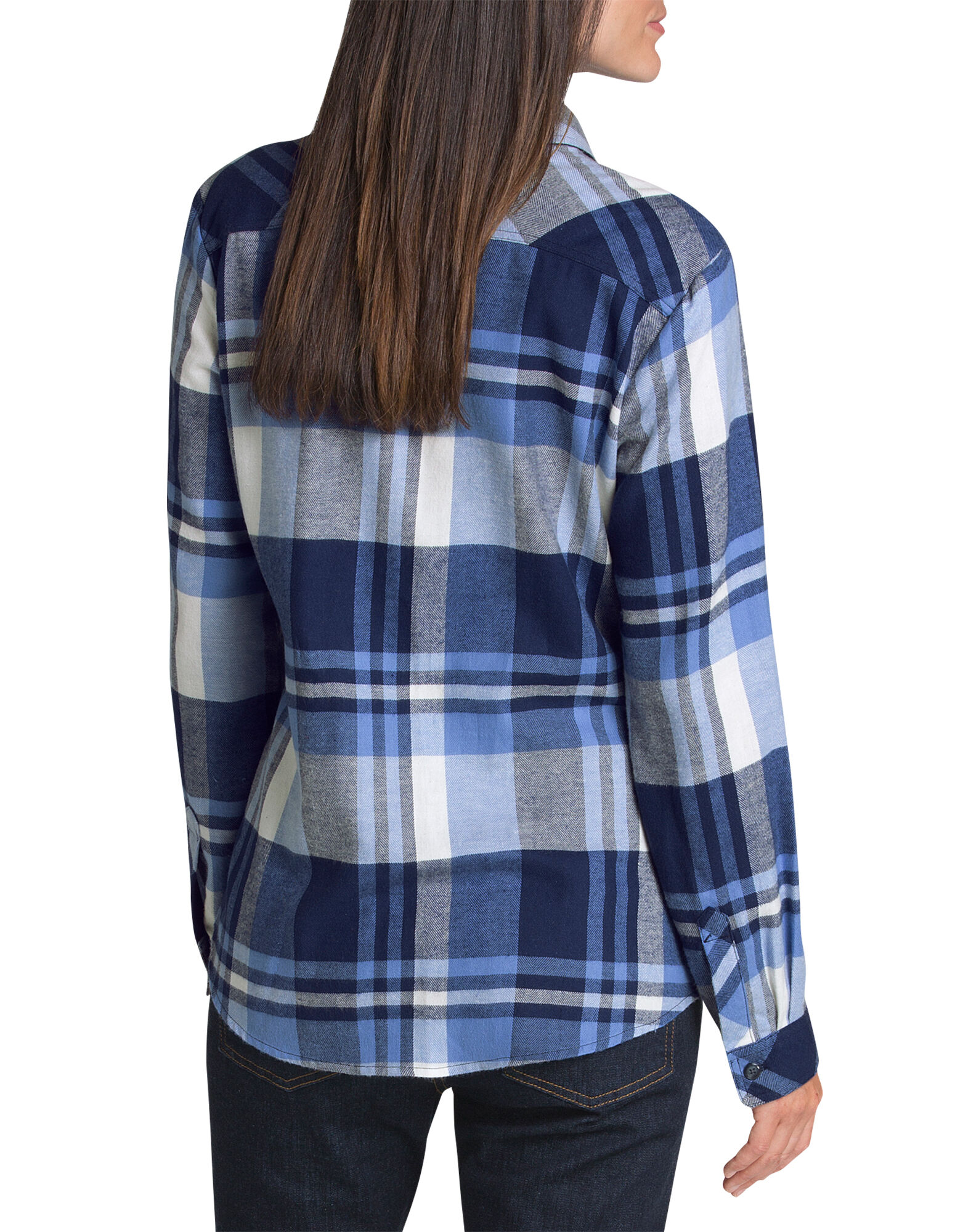 Women 39 S Long Sleeve Plaid Shirt Dickies Canada