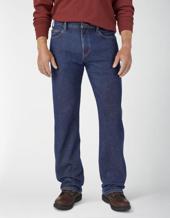 Warming Temp-iQ® 5-Pocket Lined Denim Jeans - Stonewashed Indigo (SIWR)
