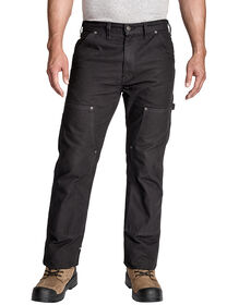 Double Front Brushed Duck Pants - Rinsed Black (RBK)