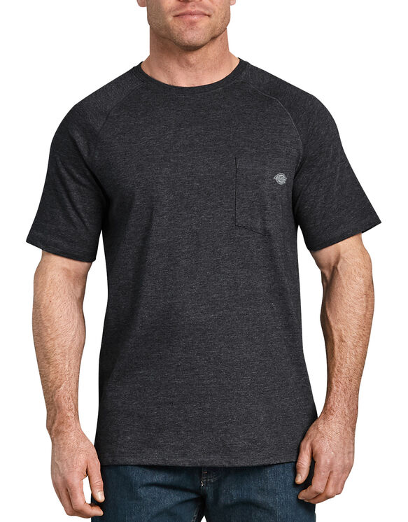 Temp-iQ™ Performance Cooling T-Shirt - Heather Black (KBH)