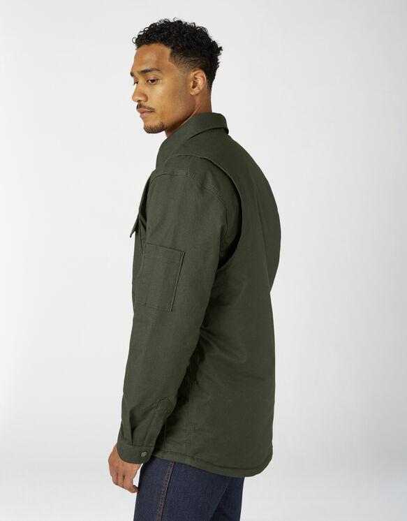 Flex Duck Shirt Jacket with Hydroshield - Olive Green (OG)