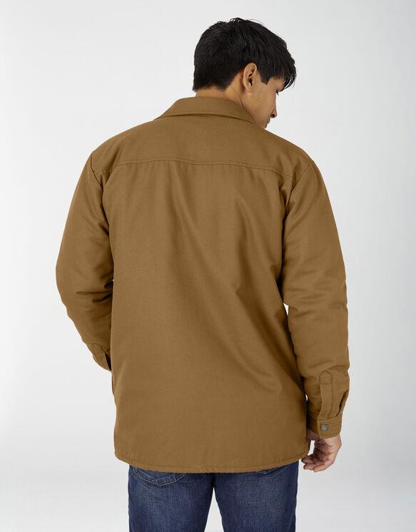 Veste-chemise en coutil doublée de flanelle avec traitement Hydroshield - Brown Duck (BD)