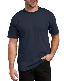 Short Sleeve Heavyweight Crew Neck T-Shirt - Dark Navy (DN)