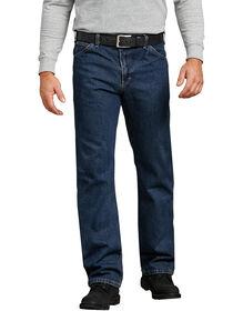 Jeans à 6 poches en denim, coupe standard à jambe droite - Heritage Tinted Khaki (THK)