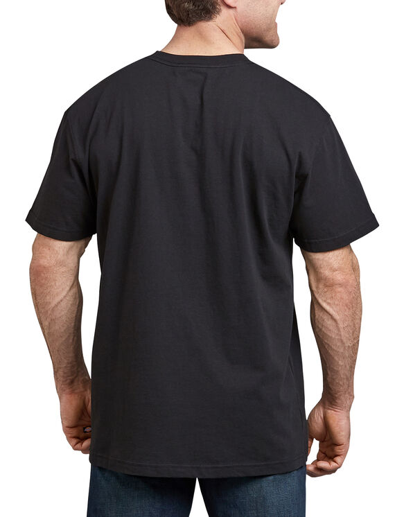 Vintage Logo Graphic T-Shirt - Black (ABK)