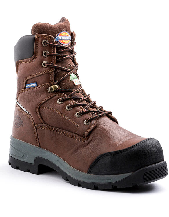 "8"" Brown Stryker Work Boot - Brown (DW)"