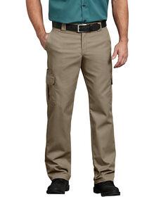 Pantalon cargo en tissu croisé - Sable du désert (DS)