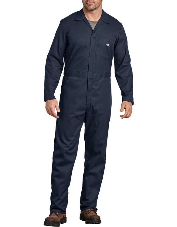 FLEX Long Sleeve Coveralls - Dark Navy (DN)