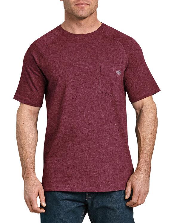 Cooling Temp-iQ® Performance Short Sleeve T-Shirt - Burgundy Heather (BYH)