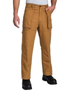 Pantalon de bûcheron en coutil - Brun rincé (RBD)