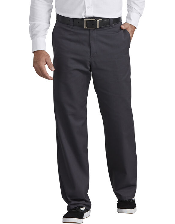Industrial Flat Front Pant - Charcoal Gray (CH)