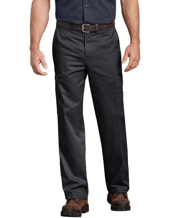 Pantalon cargo industriel en coton - Noir (BK)