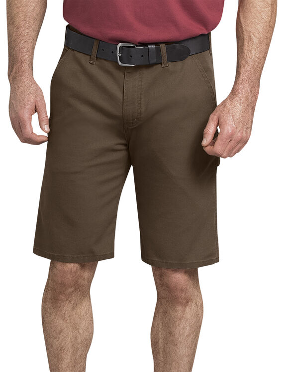 Tough Max Duck Carpenter Short - Stonewashed Timber Brown (STB)