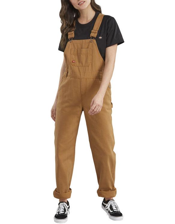 Women's Denim Bib Overalls - Brown Duck (RBD)
