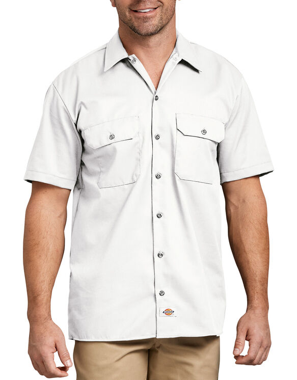 Short Sleeve Work Shirt - White (WH)
