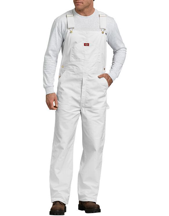 Painter's Bib Overall - White (WH)