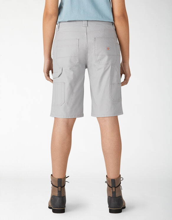 Women's Duck Carpenter Shorts - Rinsed Alloy (RAL)