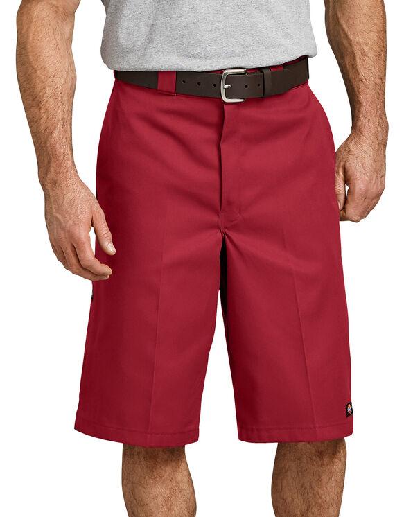 """13"""" Loose Fit Multi-Use Pocket Work Short - English Red (ER)"""