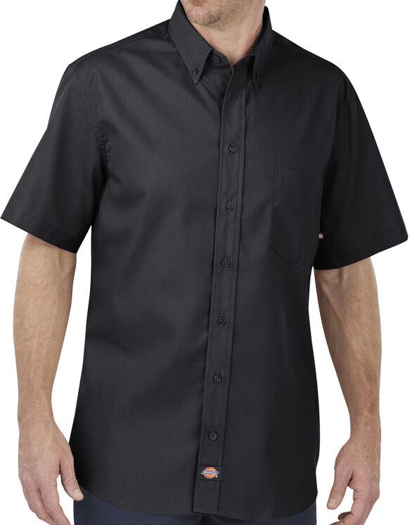 Chemise renforcée à manches courtes Flex Comfort - Noir (BK)