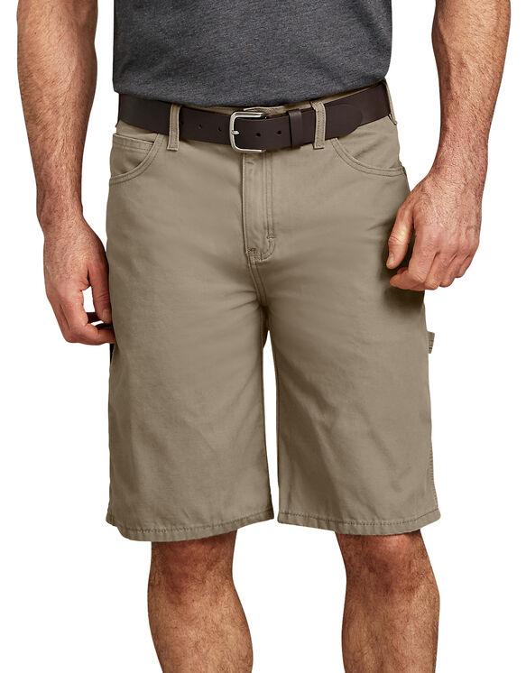 """11"""" Relaxed Fit Lightweight Duck Carpenter Short - Desert Khaki (RDS)"""