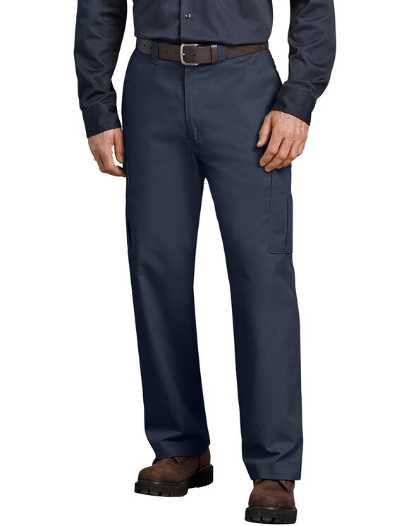 Industrial Relaxed Fit Cargo Pants - Navy Blue (NV)