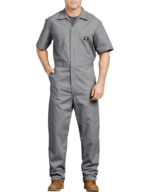 Short  Sleeve  Coverall  - Gray (GY)
