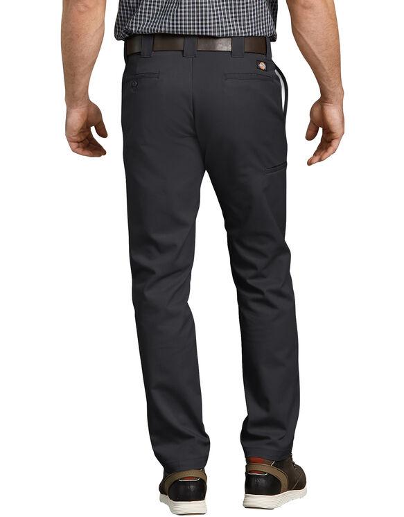 Pantalon de travail FLEX à poche multi-usage, de coupe ajustée et à jambe fuselée - Black (BK)