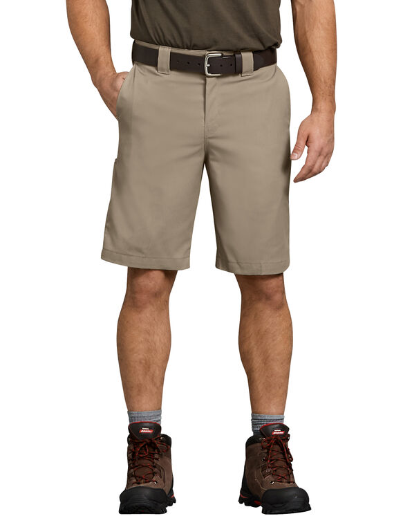"Flex 11"" Relaxed Fit Work Short - Desert Khaki (DS)"