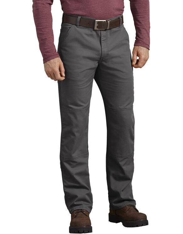 Pantalon FLEX en coutil à genoux renforcés de coupe standard - Stonewashed Gray (SSL)