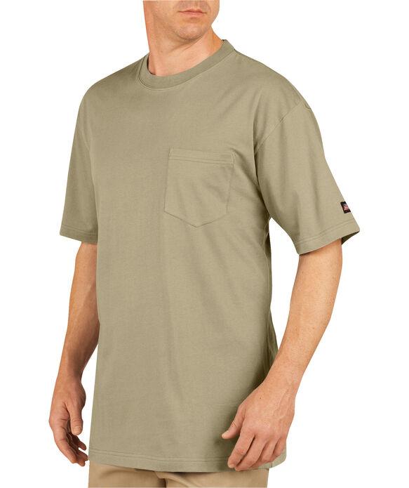Short Sleeve Pocket 2 Pack T-Shirts - DESERT SAND (DS)