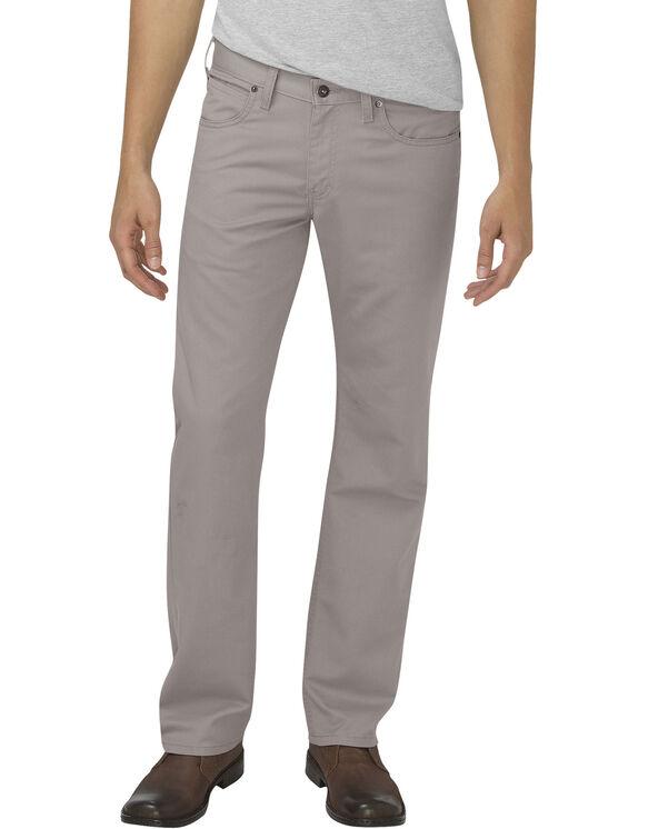 Dickies X-Series Flex Regular Fit Straight Leg 5-Pocket Pant - STONEWASH SILVER (SSV)