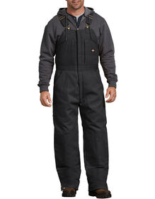 Duck Insulated Bib Overall - Black (BK)
