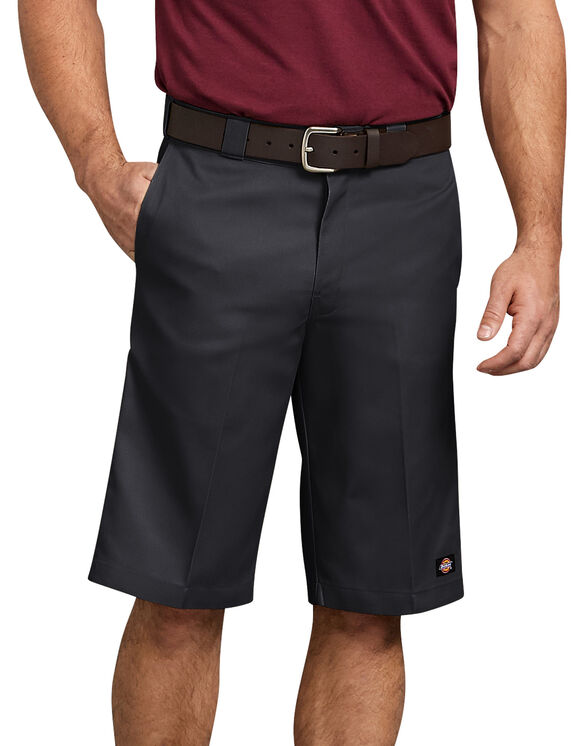 Short de travail à plusieurs poches de 13po - Black (BK)