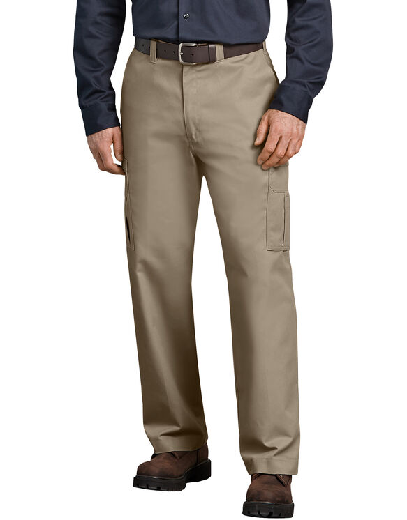 Industrial Relaxed Fit Cargo Pants - Desert Khaki (DS)