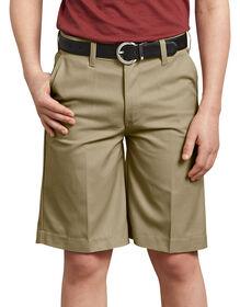 Short sans pli FlexWaist® pour garçons, 8-20 - Military Khaki (KH)