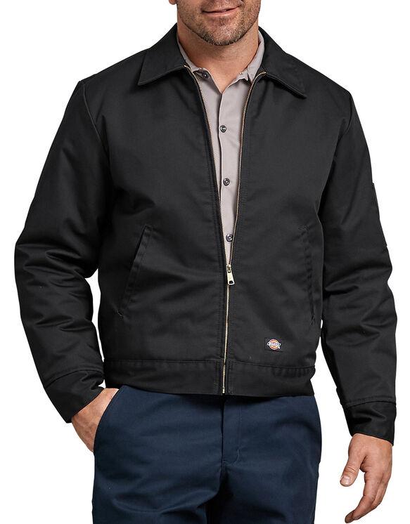 Insulated Eisenhower Jacket - Black (BK)