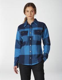 Women's DuraTech Renegade Flannel Shirt - Buffalo Bright Blue (FP2)